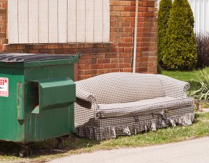 Curbside couch