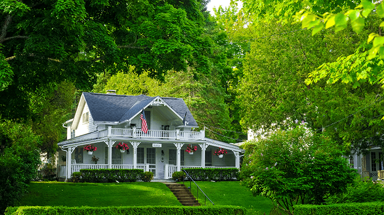 use trees to cool your house in the summer