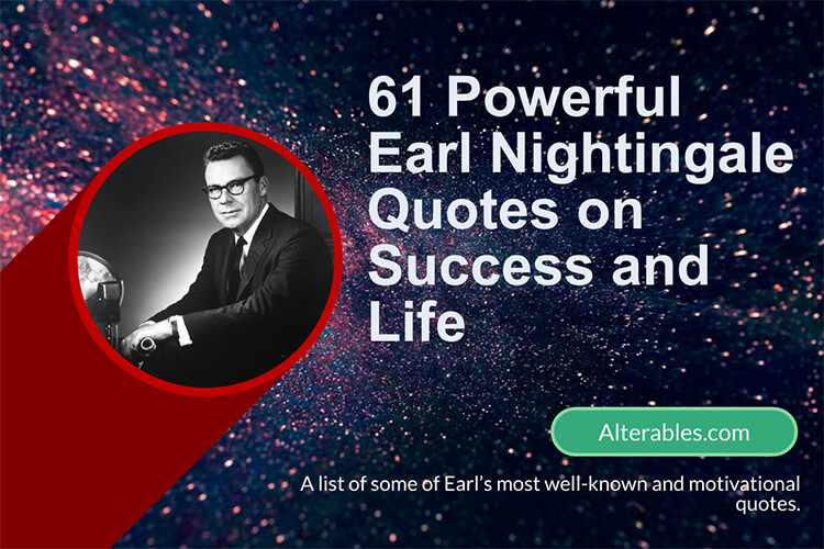 Quotations of Earl Nightingale