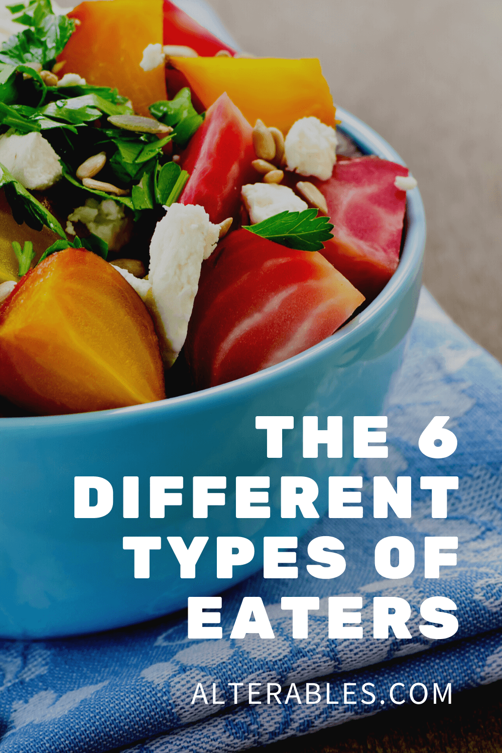 The six different types of eaters